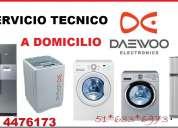 Servicio tecnico daewoo refrigeraoras en lima 4476173