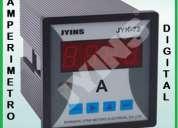 Amperimetros y voltimetros fuentes de alimentacion