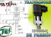 Transductores de nivel transmisores de presiÓn
