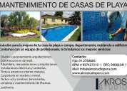 Mantenimiento casas de playa, departamentos. lima perú