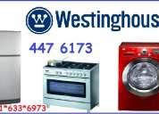 Servicio tecnico westinghouse lavadoras