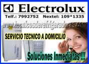 BreÑa -electrolux servicio tecnico 2761763 refrigeradoras -lavadoras electrolux