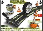 Emulsion asfaltica para sellado de fisuras y juntas