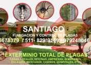 Saneamiento y fumigacion con garantia de casas, club, locales, oficinas 5678379  829*9169