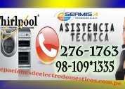 Mirafores ))tecnicos whirlool 2761763 mantenimietos de lavadoras -secadoras