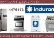 Servicio tecnico indurama cocinas 4476173 51*422*3143