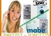 Cocinas lavadora mabe // servicio tecnico en el callo 7992752