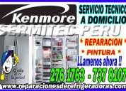 Kenmore (( refrigeradoras )) centro tecnico autorizado en lima y callao 7378107
