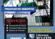 Cercos prefabricados de concreto – constructora - dremhaus