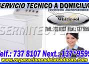 Chorrillos 109*1335 servicio tecnico de lavadoras whirlpool ((cambio de respuestos originales))