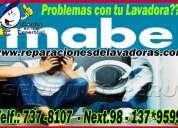 Reparaciones y mantenimiento de lavadoras mabe en los olivos 981091335