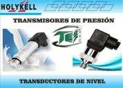 Sensores y detectores de presion/transmisores y transductores