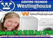 Garanty tecnicos de lavadoras westinghouse  a domicilio 7378107