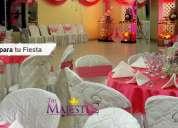 Buffets – eventos – fiestas  – salon de recepciones - buffets the majestic