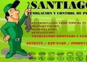 Fumigaciones y exterminio de insectos y roedores con garantia 5678379  829*9169  #990971105