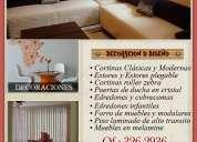 Decoracion de interiores – diseÑos – cortinas – alfombras - decoraciones sandra – ate