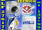 Coldex 7378107 servicio tecnico de lavadoras a domicilio