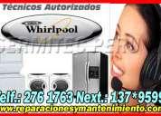 Servicio tecnico whirlpool lavadoras cocinas lima for Servicio tecnico whirlpool