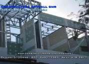 Expertos en sistema drywall para departamentos y oficinas 949073383