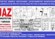 servicios de autocad, cadistas, dibujantes, digitaciones, levantamientos, 3d