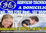 Assistence general electric tecnicos 2761763 reparacion de lavadoras -secadoras - la molina
