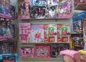 Vendo lote de 56 juguetes saldo navidad 2014