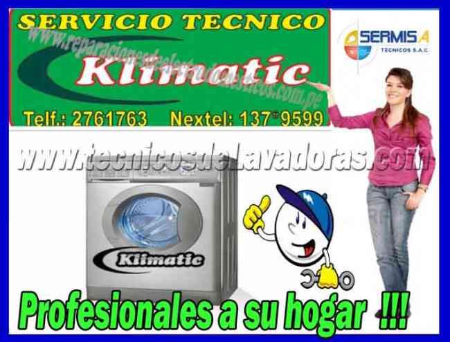 EXPERTOS KLIMATIC 2761763 SERVICIO TECNICO DE LAVADORAS -SECADORAS - MIRAFLORES -SAN BORJA