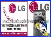 Lince,jesus maria ((servicio tecnico lg )) lavadoras -secadoras tromm a domicilio