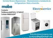 Tecnicos* refrigeradores m@be *reparacion a domicilio 2748107