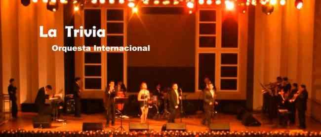 Orquesta; Orquesta* Grupo musical ORQUESTA LA TRIVIA musica variada en vivo Tlf. 511 4505319 Lima