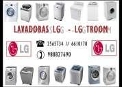 Servicio tecnico de lavadoras lg tromm 2565734 lima sp