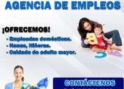 agencia de empleos, agencia monterrico ofrecemos empleada de hogar