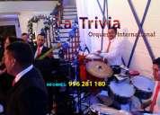 Grupo musical orquesta para bodas cumpleaÑos la trivia en perú tf. 4505319
