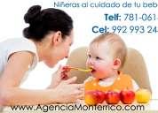 agencia de empleos, ofrecemos niñeras y cuidado de adulto mayor