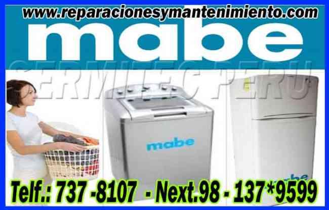 Mabe Secadoras y Cocinas Técnicos A1 (Villa Maria del Triunfo) 7378107
