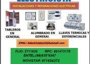 Tecnico electricista tecsup 24 horas 991473178