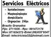 Electricista miraflores,surco,san borja,barranco,san isidro,la molina 991473178 - 971654372