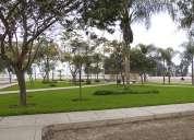 Urb. san antonio terreno frente al parque