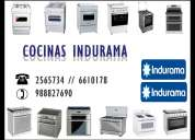 Lima:servicio tecnico de cocinas indurama 2565734 sp