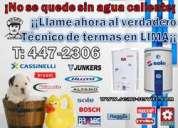 Servicio tecnico de termas alfano – klimatic - aquamax