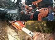 venta de equipos de jardineria y forestales
