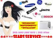 York  & khor reparaciones!! servicio tecnico de aire acondicionado y refrigeradoras