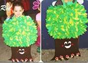 Venta disfraz trajes reciclaje robot pirata princesas hadas maquetas arbol animales frutas