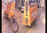 Bicicletas publicitarias novedosas