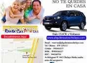 Alquiler autos camionetas minivan en chiclayo