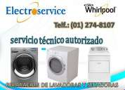 Servicio tecnico de secadoras whirlpool/limaperu 6687691electroservice