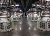 Maquinas rectilineas y circulares biotex.   algodon, polialgodon, poliester, nylon