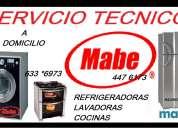 servicio tecnico mabe refrigeradora 6750837